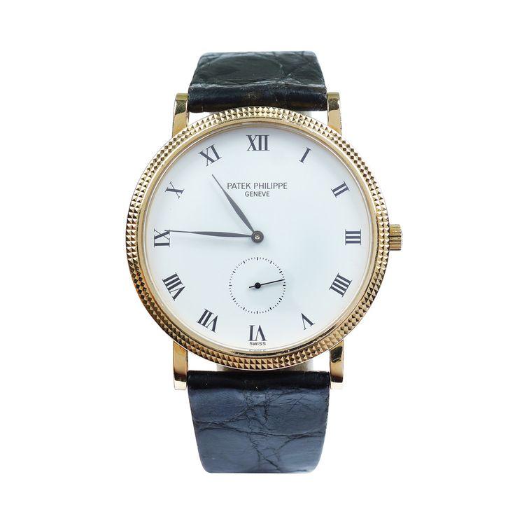 LOT 279 A Patek Philippe Calatrava wristwatch 18 Kt gold