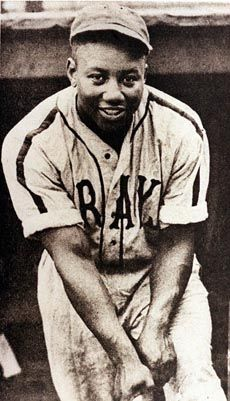 JOSH GIBSON'S A photo of Josh Gibson, believed to be from the 1940's, playing for the Homestead Grays.