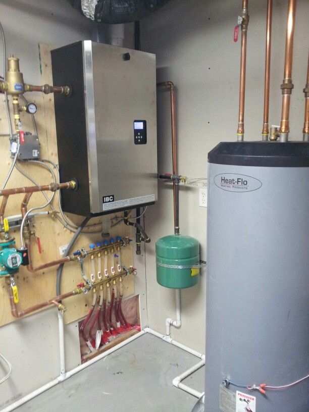 Ibc high efficiency boiler heat flo indirect hot water for Efficient hot water systems