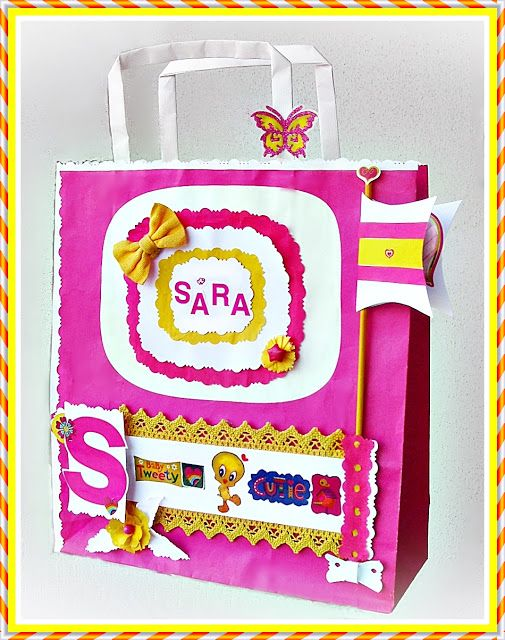 Le Ghirlande: Gift scrap bags recycling for kids
