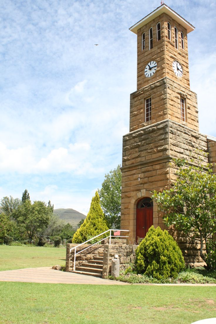 Church at Clarens,Free State,February 2014