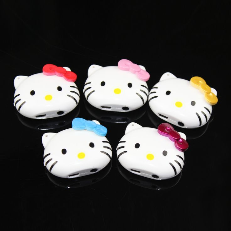 Mini Clip kitty Mp3 Player With TF Card Slot Electronic Products Fashion High Quality sports plastic mini MP3+ Earphone | Price: US $3.22 | http://www.bestali.com/goto/32370803367/10
