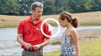 På fisketur med Kronprins Frederik