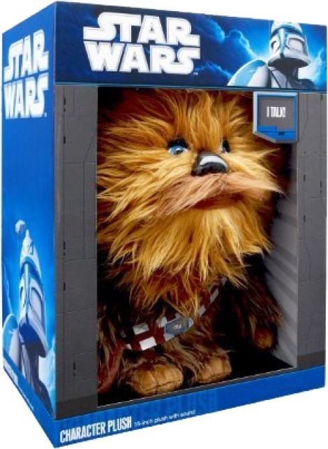 """Star Wars - Chewbacca 15"""" Talking Plush"""