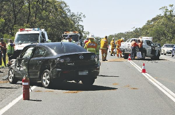 The scene of the accident on January 19 that claimed the life of a Gwynneville woman.