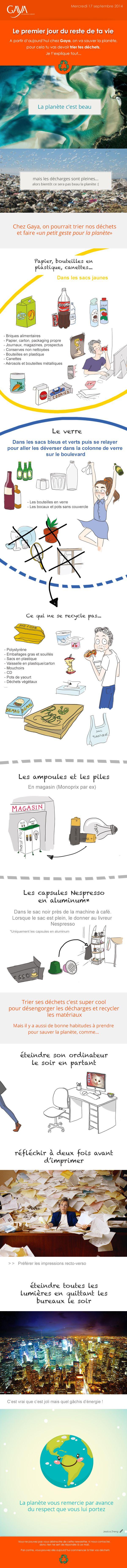 Ampoule laureen luhn design graphique - Newsletter Fait En Interne Pour Sensibiliser L Quipe Au Tri Des D Chets Gaya