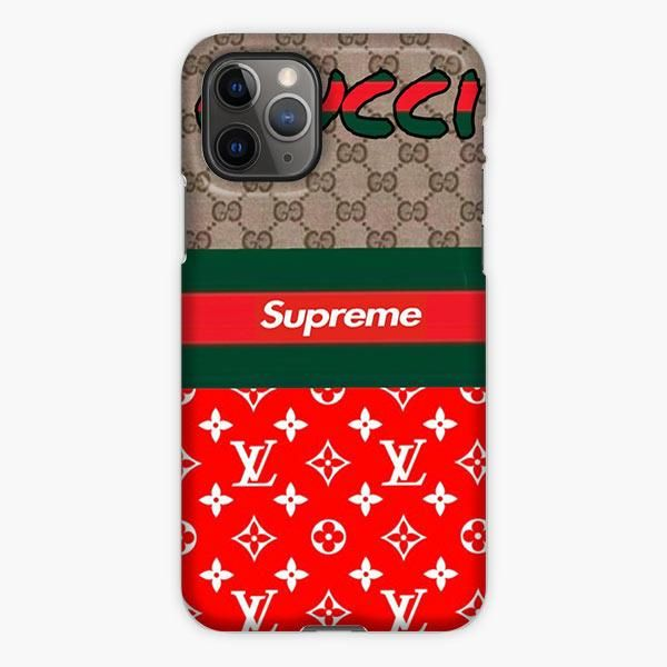 Supreme X Gucci Iphone 11 Pro Max Case In 2020 Iphone 11 Pro Case Iphone 11 Case