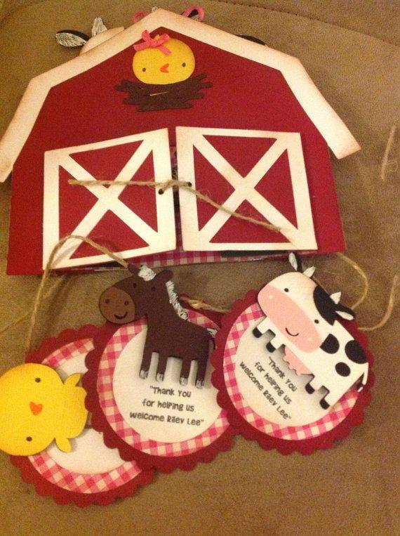 Barn Invitation on Etsy, $4.50
