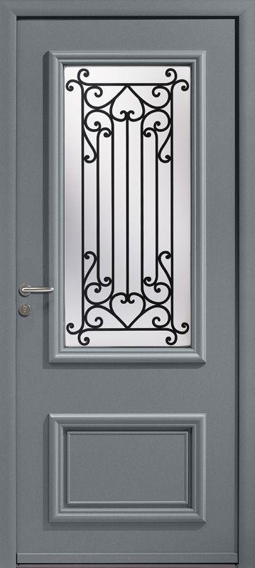 Porte d'entrée aluminium Colombelles