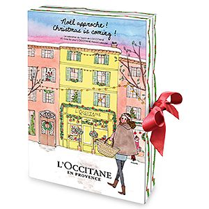 Featuring a selection of best sellers, this calendar is filled with 24 irresistible surprises from L'Occitane.. A beautiful way to get excited for th