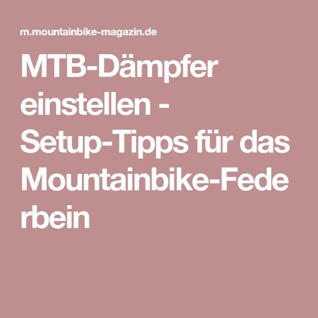 MTB-Dämpfer einstellen - Setup-Tipps für das Mountainbike-Federbein