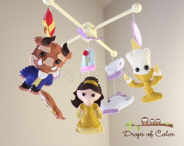 25 best ideas about disney princess nursery on pinterest for Princess crib mobile