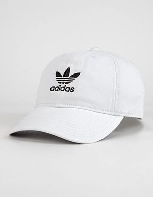 ADIDAS Originals Relaxed Womens Dad Hat White