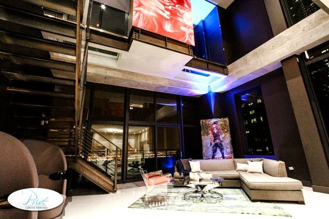 Modern Penthouse Suites at NightDowntown Chicago Modern