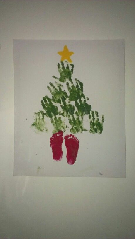 Christmas tree that I made with my 18 month old                                                                                                                                                                                 More