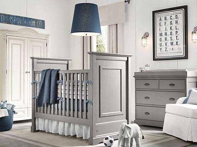 Arredare in bianco e grigio Design cameretta per bambini
