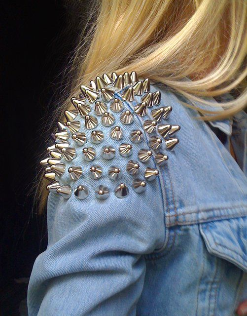 We are seeing SPIKES in fashion everywhere (Thanks in part to Rihanna). We think it can be fun if worn right... what do you think?