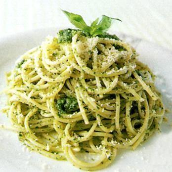 ジェノバペーストのスパゲッティ   林幸子さんのパスタの料理レシピ   プロの簡単料理レシピはレタスクラブニュース