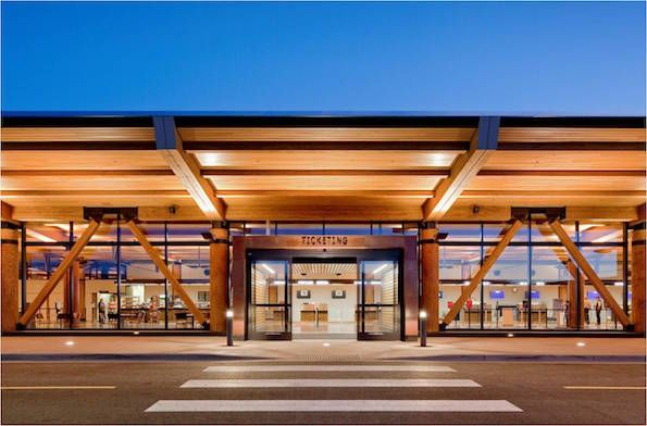 Аэропорт в Джексон Хоул (США). Gensler