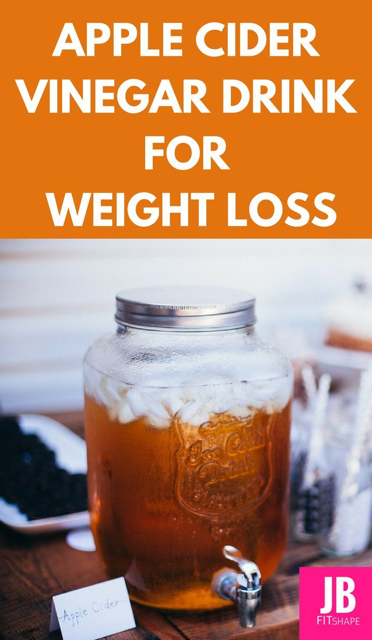 Apple Cider Vinegar Drink for Weight Loss. How to lose weight