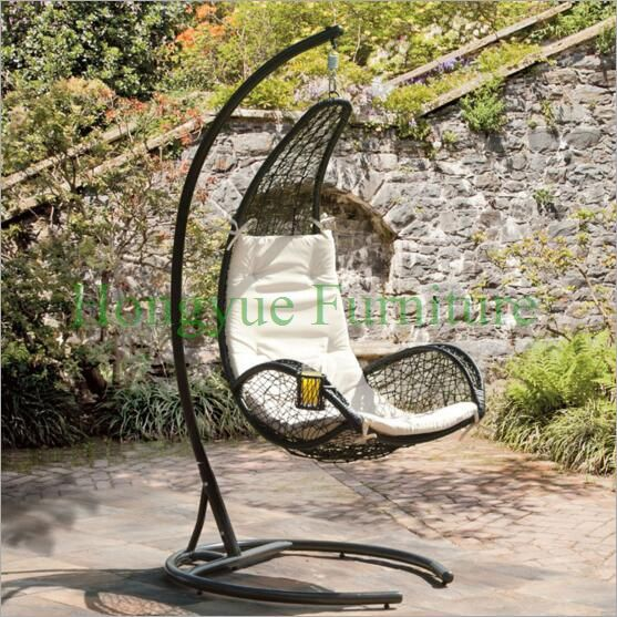 Find More Hanging Baskets Information about Garden rattan hammock chair set furniture with cushions,High Quality chair futon,China chair speaker Suppliers, Cheap chair exercises from Hongyue Cane Skill Furniture on Aliexpress.com
