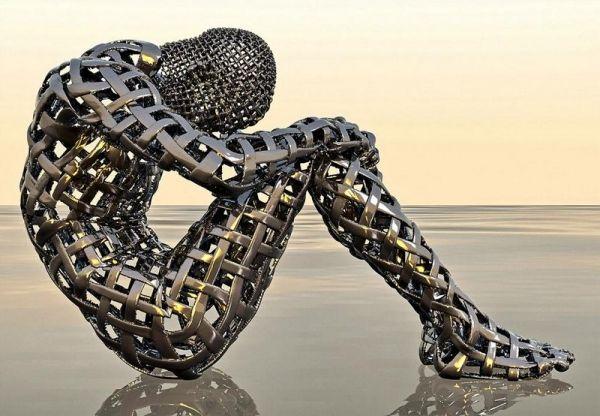L'artista londinese Grégoire A. Meyer si serve dell'illustrazione digitale per creare sculture virtuali che riproducono, in modo distorto, la forma umana. Per ottenere questo risultato, egli utiliz...