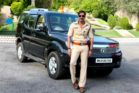 Tata Motors Cars Make An Appearance In Singham Returns | Fly-Wheel