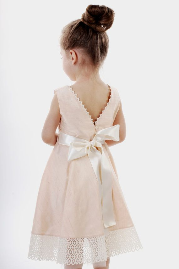 Flowers Girls Dresses Pastel
