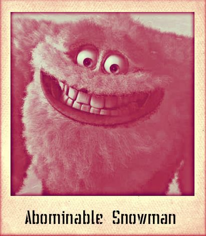 Abominable Snowman - Monsters Inc - Gryffindor