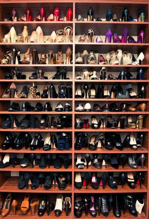 Organizador para muchos zapatos interesante pinterest - Organizador de zapatos ...