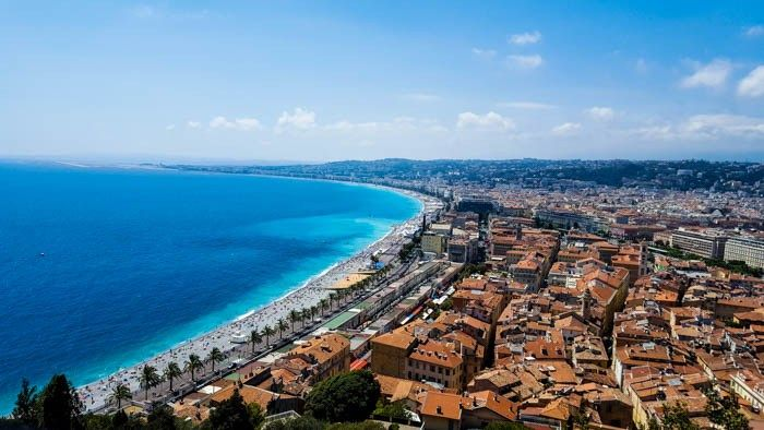 Nice view, french riviera