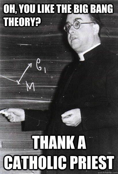 Georges Henri Joseph Édouard Lemaître (French: [ʒɔʁʒə ləmɛtʁ] ( listen); 17 July 1894 – 20 June 1966) was a Belgian priest, astronomer and professor of physics at the Catholic University of Leuven. He proposed the theory of the expansion of the universe, widely misattributed to Edwin Hubble.