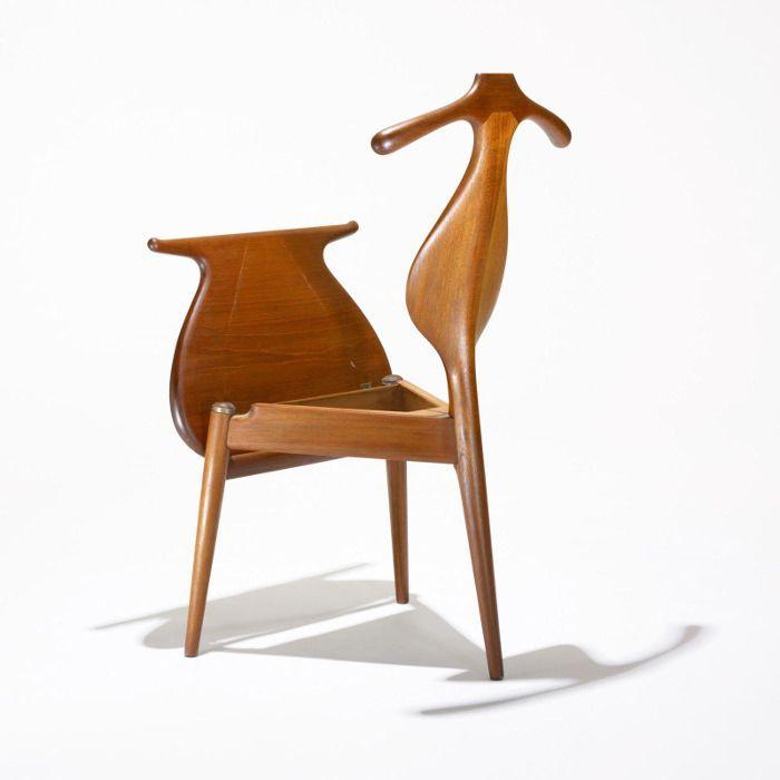 PP 250 Valet Chair par Hans Wegner - design furniture - chaise ...