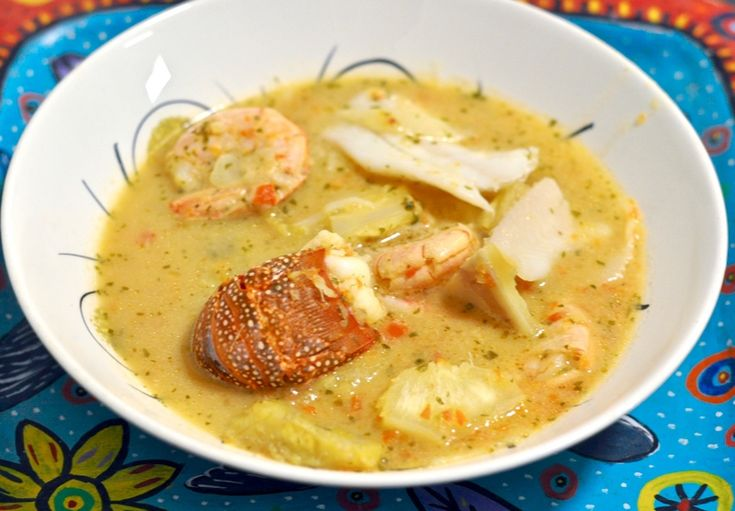 Tapado  A Guatemalan Recipe for Seafood Coconut Soup Enjoy a taste of the Caribbean with this authentic but easy Guatemalan recipe for tapado a rich seafood coconut and plantain soup.