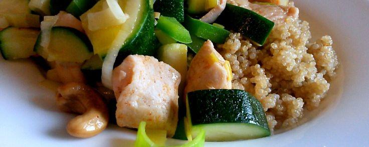 quinoa met kip en groenten