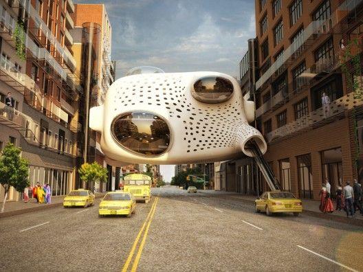 Prepara tu mente para el futuro, estas son las tendencias de diseño urbanistico. Del hombre digital cibernauta.