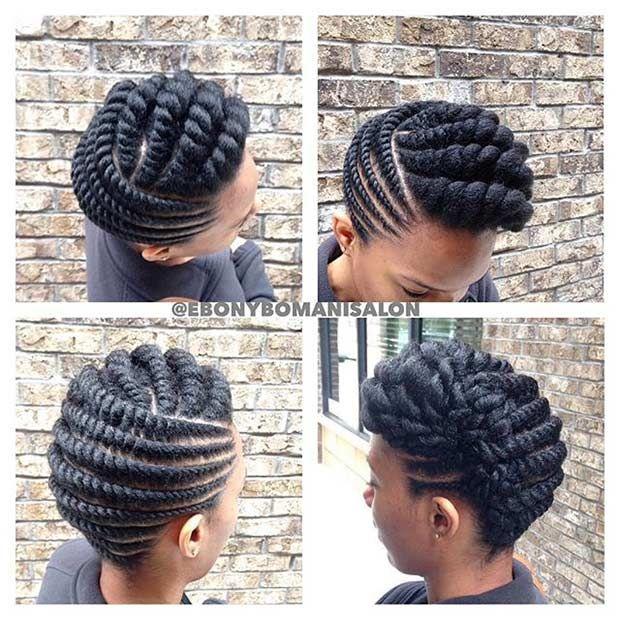 21 Gorgeous Flat Twist Hairstyles