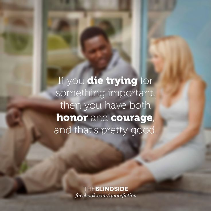 blind side movie quotes | The Blind Side (2009)facebook.com/quotefiction