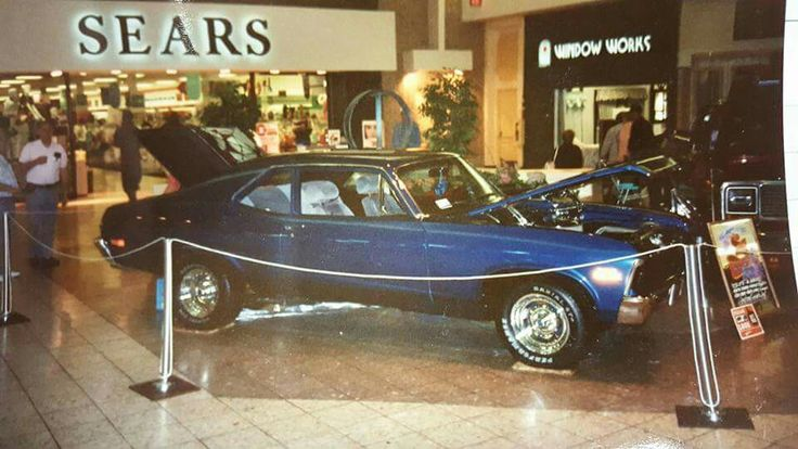 Ohio valley mall car show 1989