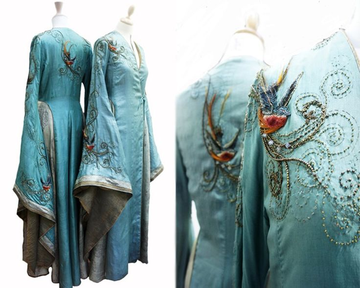 "daenystargaryen: "" grimsperation: "" Michele Caragher Embroidered details in Game of Thrones 'Michele Carragher is a London-based Hand Embroiderer and Illustrator who has been working in costume on film and television productions for over 15 years...."