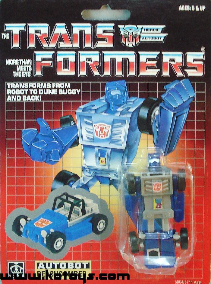 G1 Minibot Autobot BEACHCOMBER Action Figure Reissue Toy Figurine New
