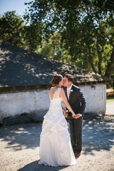 Жених впервые видит невесту в день свадьбы