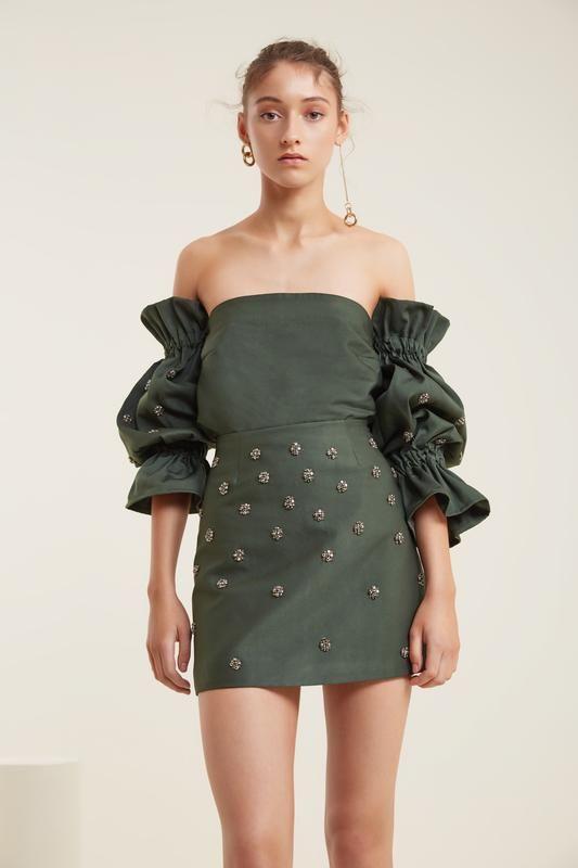7436e66681d208 ASSEMBLE MINI SKIRT forest | My Style | Mini skirts, Skirts, Mini
