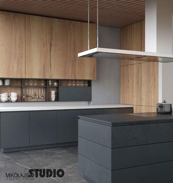 Moderne Küche: moderne Küche von MIKOLAJSKAstudio