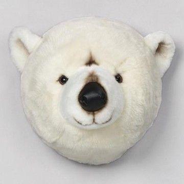 Deze ijsbeer is toch wel schattig voor in de kinderkamer!