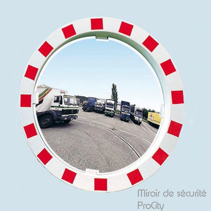 Miroir de sécurité, Ø 90 cm, Design ProCity