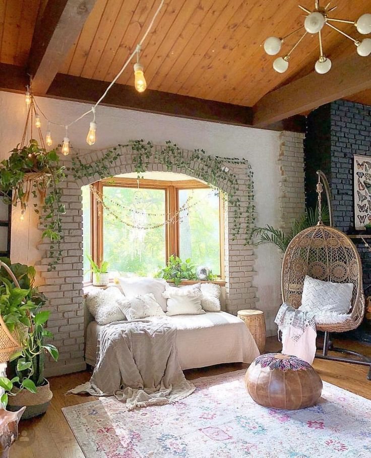 Bohemian Home Decor Design-Ideen