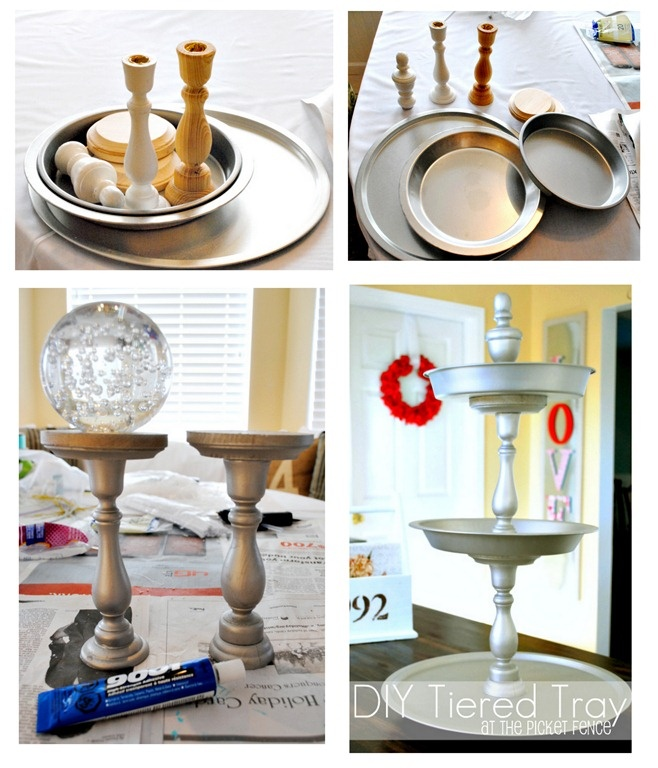 Diy 3 Tier Jewelry Stand: 17 Best DIY Tiered Trays Images On Pinterest