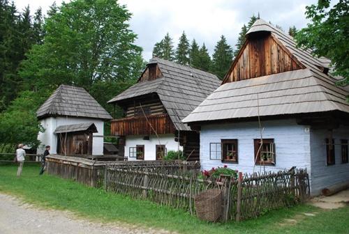 Slovakia, Martin - Museum of the Slovak Village