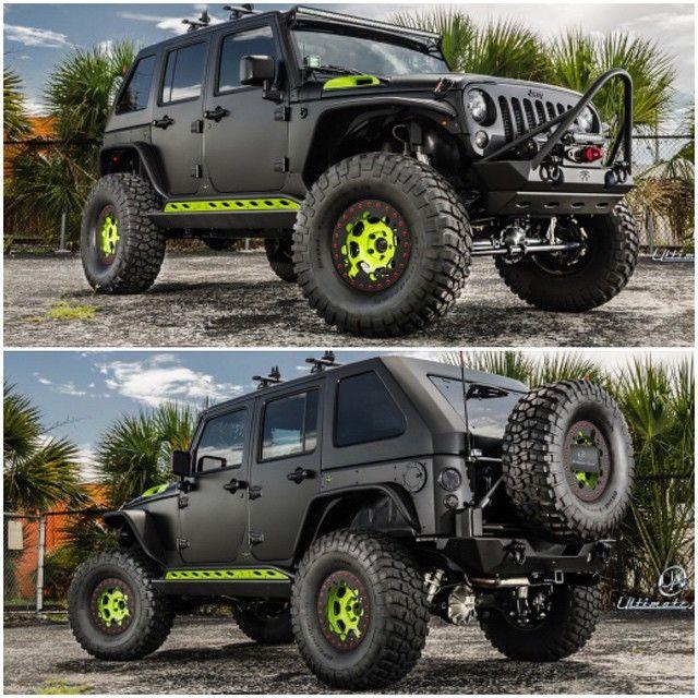 Custom Jeep Wrangler | Follow: @UltimateAuto | | www.UltimateAuto.com | For More Great Builds #Padgram